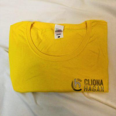 Cliona Hagan T-Shirt Yellow