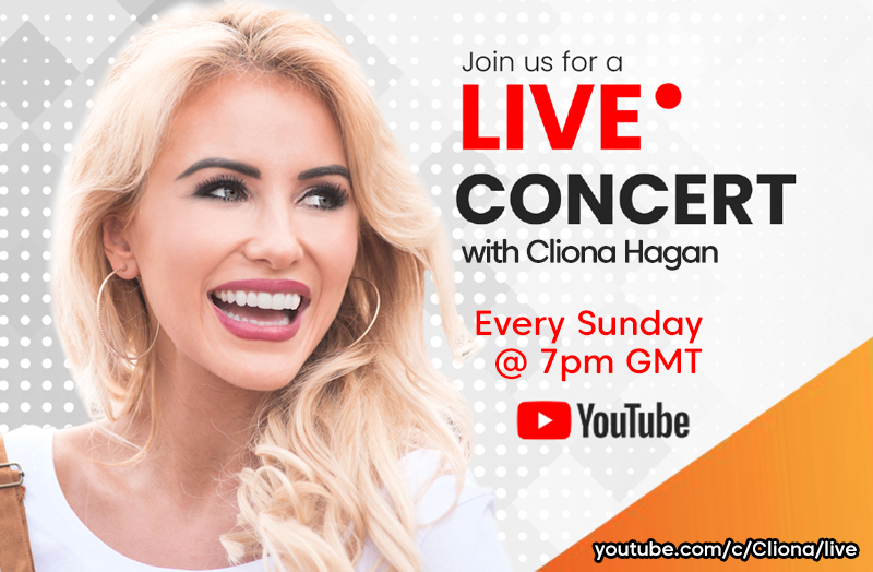 Cliona Live YouTube Concert